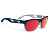 Rudy Project Groundcontrol Cykelbriller rød/blå